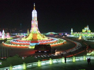 Ice Festival Harbin China