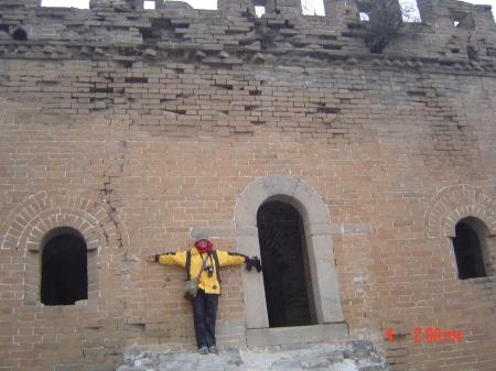 Me at The Great Wall of China, Jinshaling Part, ReadyClickAndGo